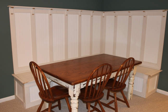 Diy Corner Kitchen Table With Bench Plans Pdf Download
